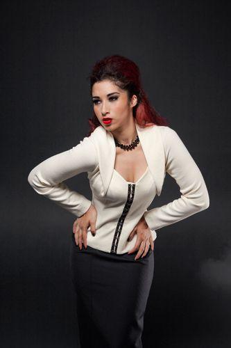 Madame Pompadour Knit Jacket