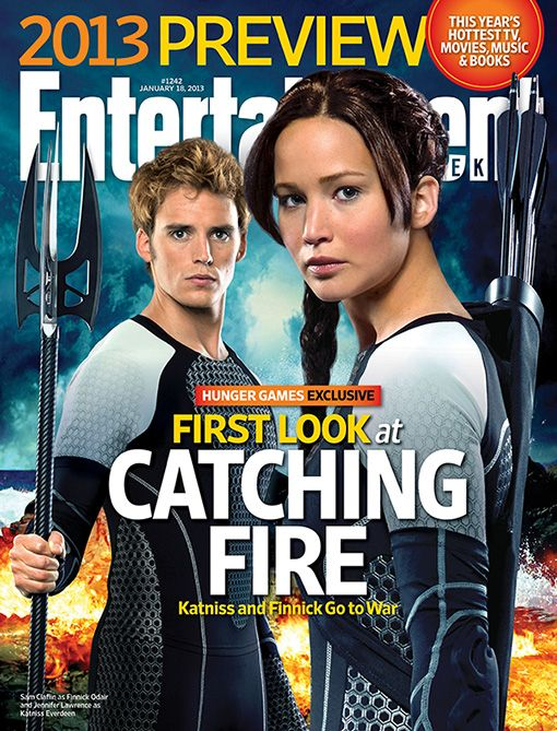 First Look at The Hunger Games - Catching Fire: Katniss and Finnick