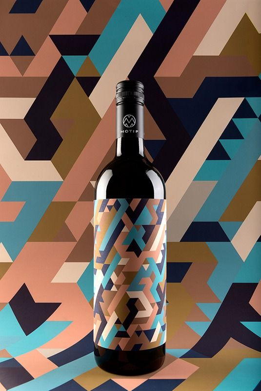 Can you tell what wine is like from a geometric pattern? | Graphic design | Creative Bloq