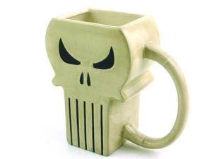 #Marvel Heroes #Punisher Symbol Previews Exclusive Molded Mug - Midtown Comics