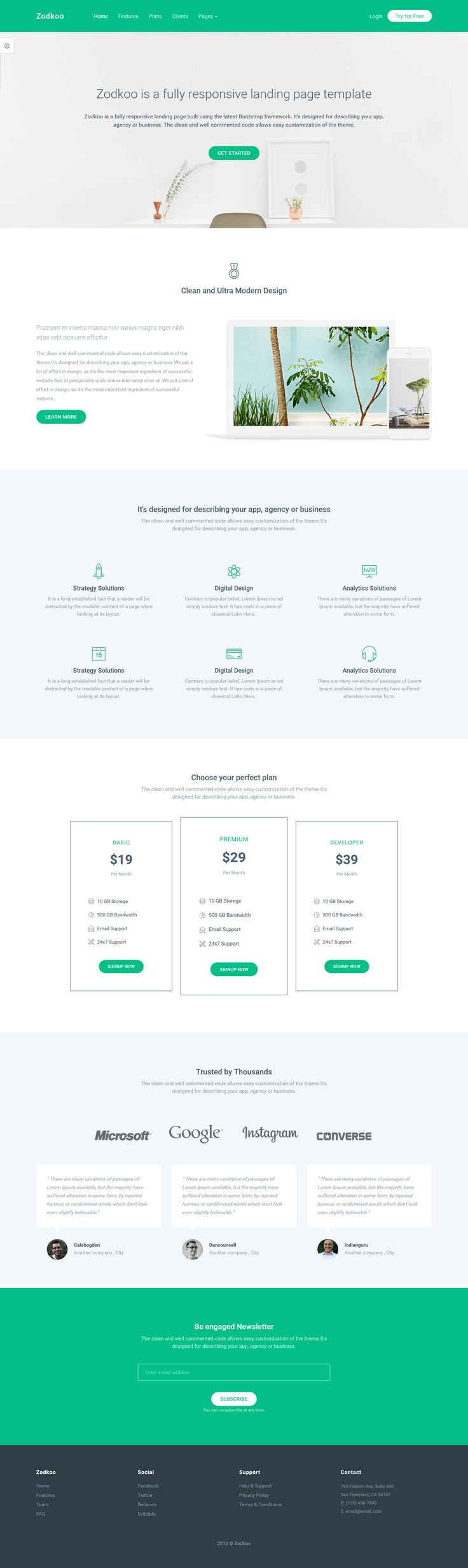 Zodkoo - Responsive Landing Page Template. Live Preview & Download: https://themeforest.net/item/zodkoo-responsive-landing-page-template/16269454?ref=ksioks