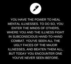 Image result for writing prompts power to heal mental illness