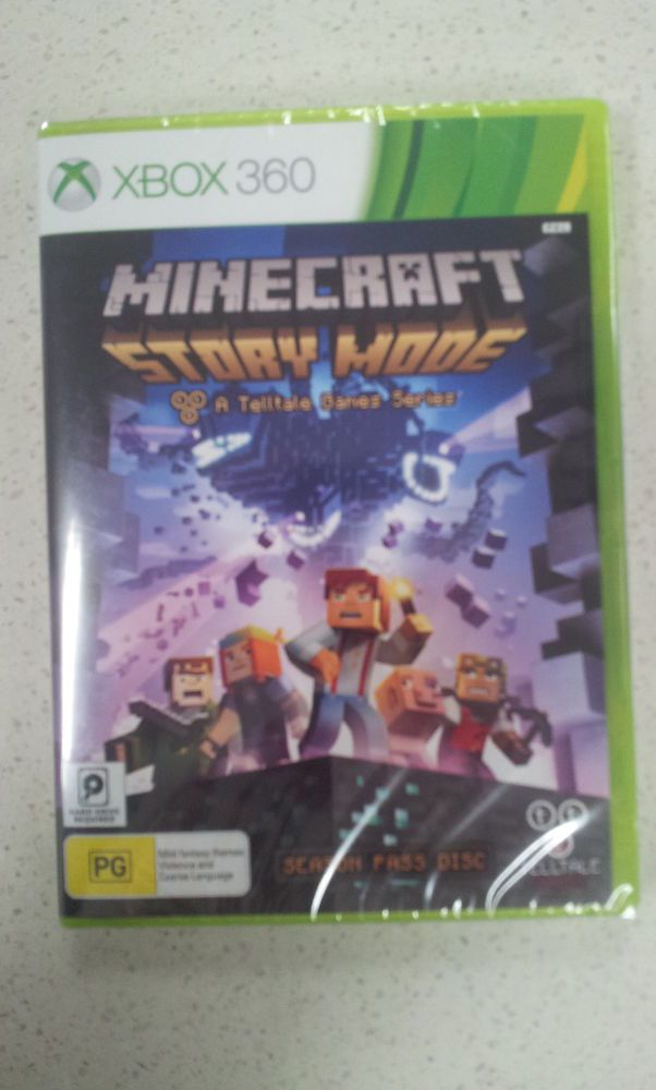 Minecraft Story Mode A Telltale Game Series Xbox 360 Brand New