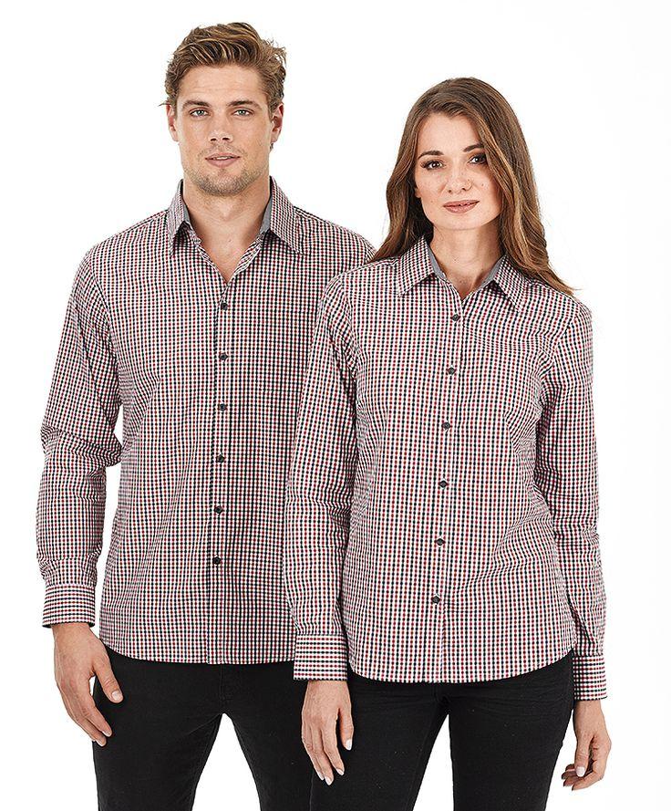 Contemporary Shirts : W56 Ladies Hudson L/S - 5 Colours