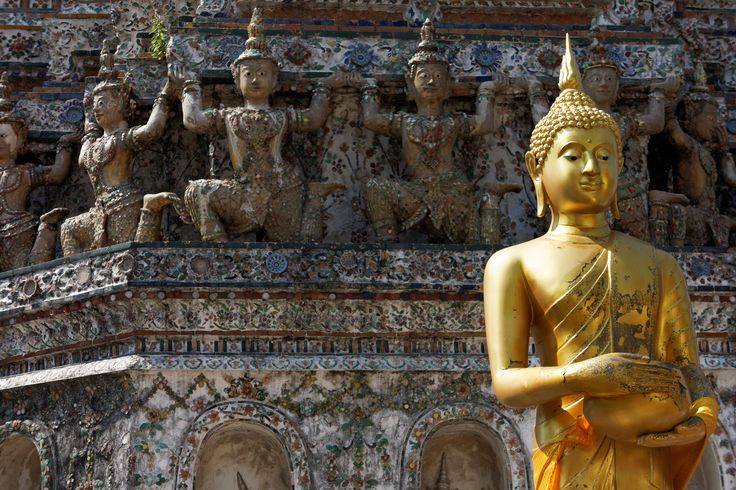 Day 122, Exchange, Christmas Holiday, Family, Wat Arun, Buddha, Bangkok