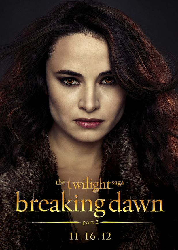 Mia Maestro as Carmen from The Denali Coven - The Twilight Saga: Breaking Dawn Part 2