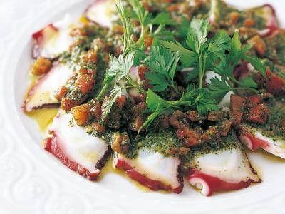 たこのカルパッチョ レシピ 講師は北見 博幸 さん|使える料理レシピ集 みんなのきょうの料理 NHKエデュケーショナル