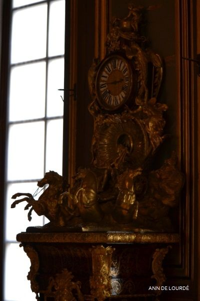 The Clock, L'Horloge, Spring 2016, Le Première Salle Saint Louis, Le Château de Fontainebleau, Fontainebleau, France.