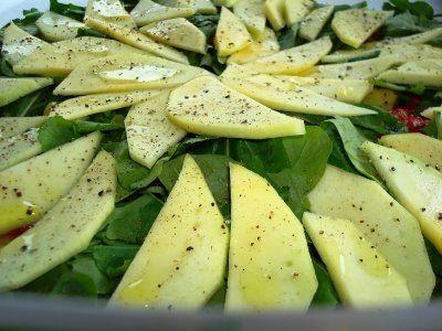 Mango verde con sal y limon