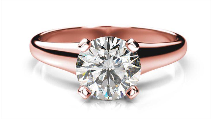 Zasnubný prsteň Bellatrix round