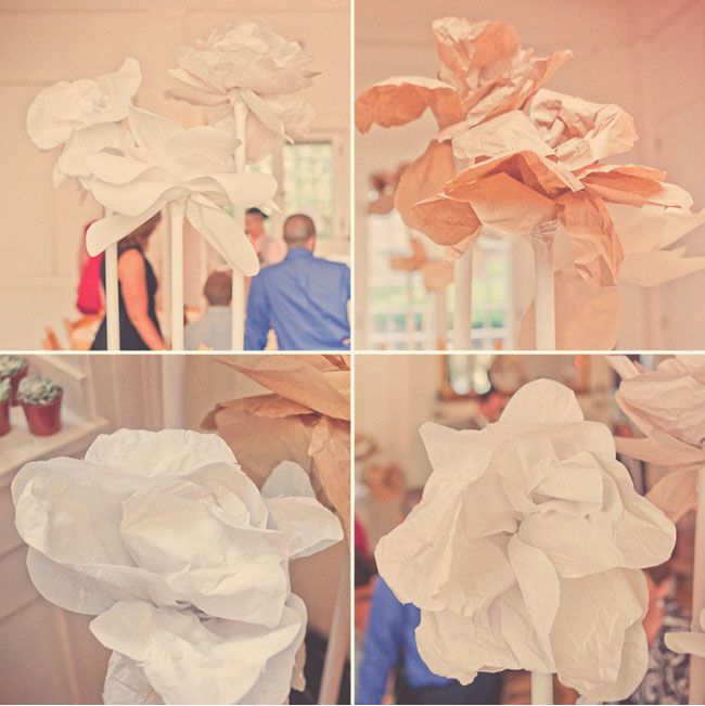 I love these giant paper flowers. How do I make these giant paper flowers?