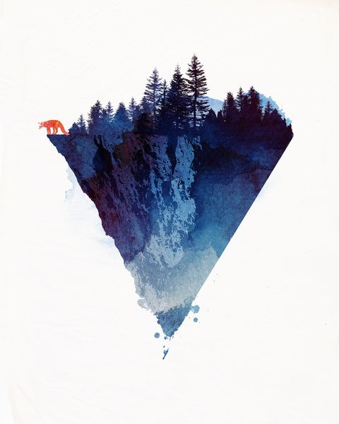 Near to the edge Art Print by Robert Farkas | Society6