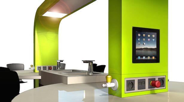 B4 Technisch Meubilair B.V. (Product) - Maatwerk meubilair voor onderwijs - technische ruimten