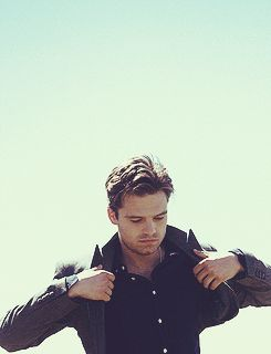Sebastian Stan AKA the Winter Soldier!! <3