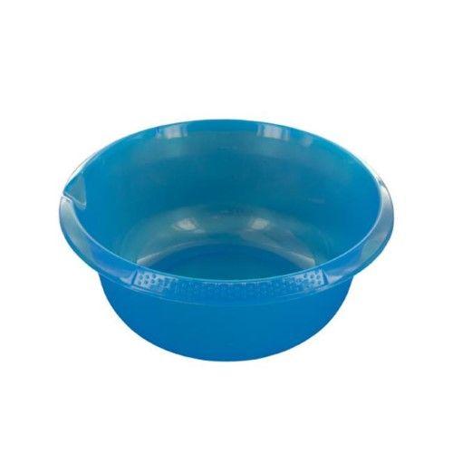 Bulk Buys HW881-48 Round Plastic Basin with Pour Spout, 48 Piece, As Shown