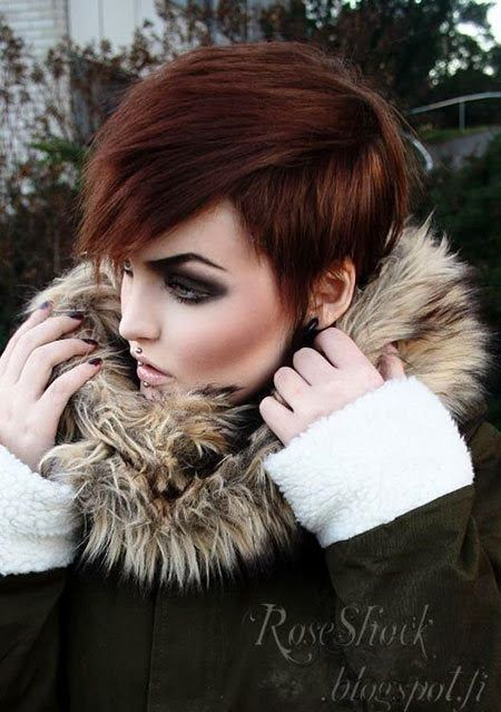 Extremely Short Hair amazing style for women 2015