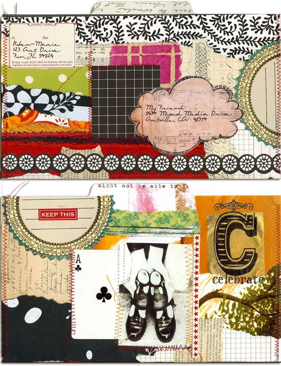 roben-marie smith # mail artMailart, M Art, Art Journals, Art Envelopes, Mail Art Hom, Paper Parties, Art Mail, Art Postal, Artsy Journals