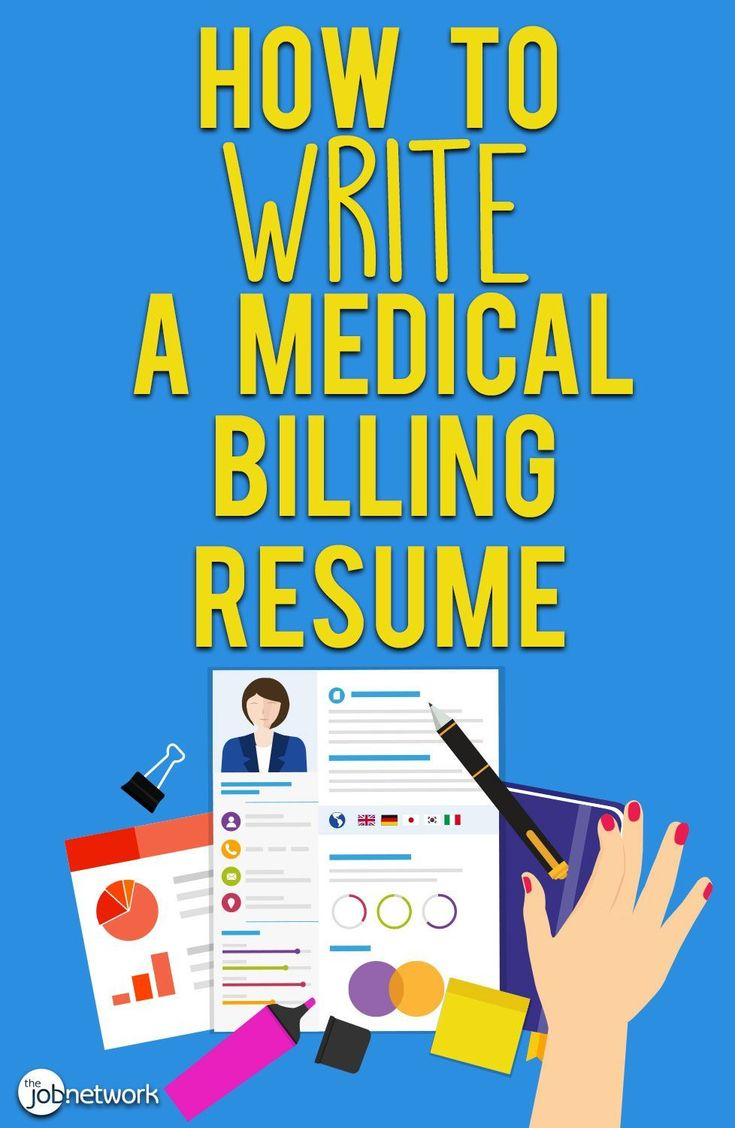 How to write a medical billing resume with examples