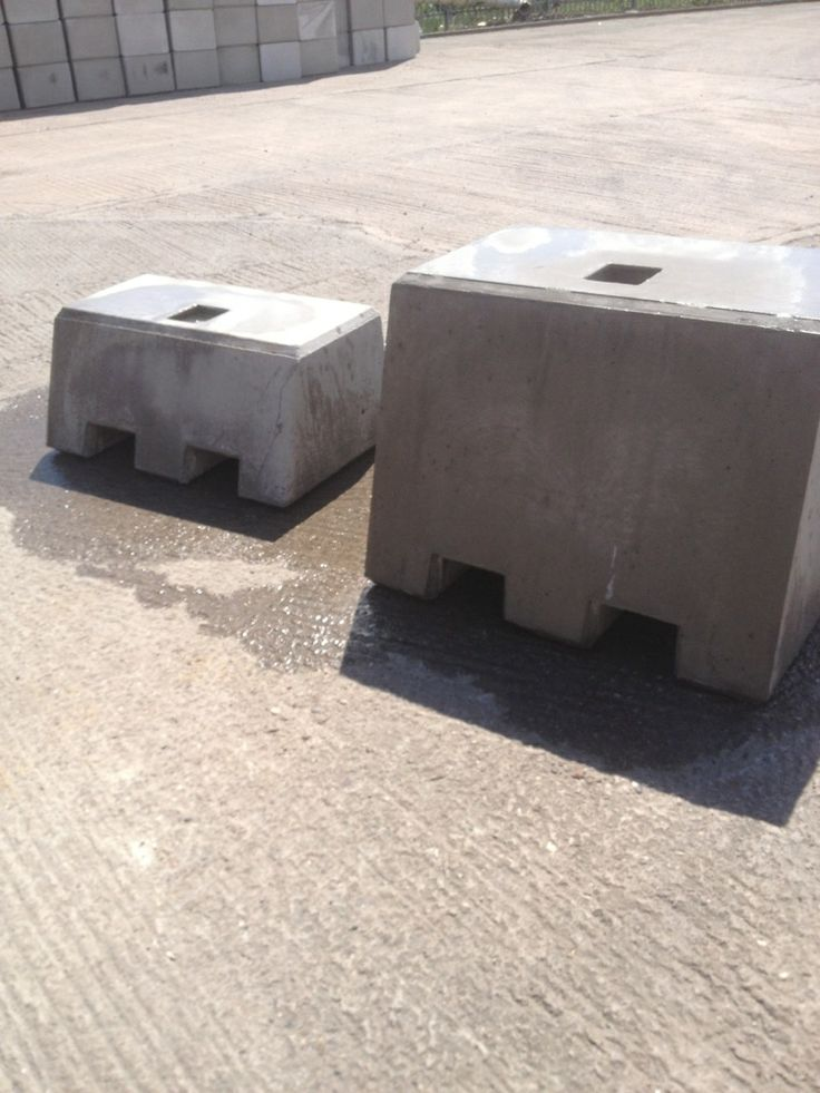 11 Best Concrete Hoarding Counterweight Blocks Images On