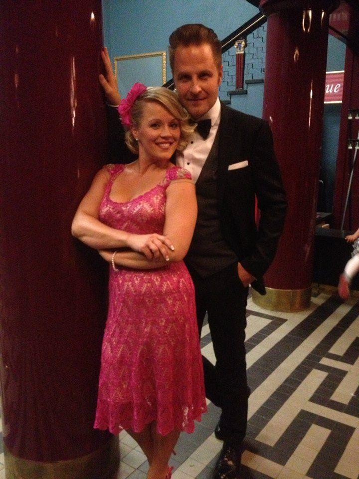 Heidi Pakarinen ja Kyösti Mäkimattila finaalin karsinnoissa | asu: KV Couture | fascinaattori: Annina Nyberg-Saxberg Milliner | #kvcouture #kristinaviirpalu #dress #fascinator # tangomarkkinat #doromediapalvelu | kuva: Seinäjoen tangomarkkinat