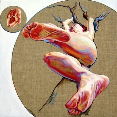 "Saatchi Online Artist Cristina Troufa; Painting, """"Árvore"" (tree) SOLD"" #art"