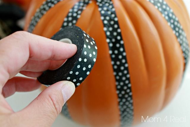 Pumpkin Decorating Ideas Using Foam Pumpkins (Funkins) - Mom 4 Real