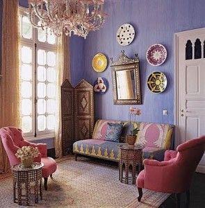 独特の色使いとキラキラした小物・・・アラサーアラフォーでもキュンキュンしてしまうモロッコインテリアのお部屋に住…