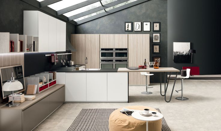 Volumia Oversize è il nuovo sistema cucina di Febal Casa | Ambiente Cucina