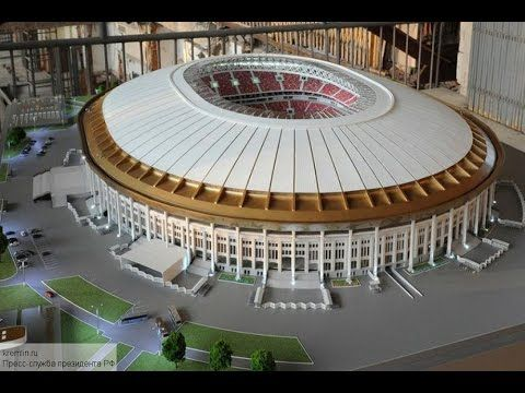 Как сейчас выглядят стадион Лужники. luzhniki stadium. World cup 2018 Russia stadium - Fifa World Cup 2018