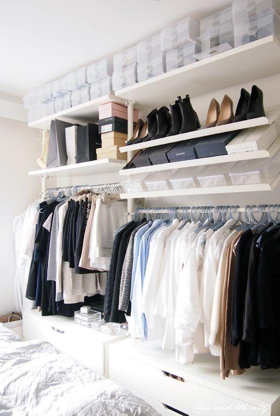 25 melhores ideias de construir um guarda roupa no pinterest construir guarda roupa. Black Bedroom Furniture Sets. Home Design Ideas