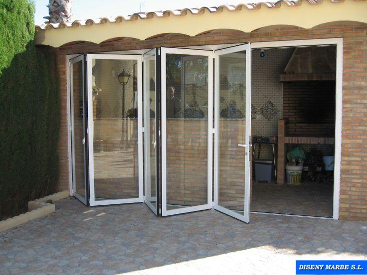 M s de 25 ideas incre bles sobre ventanas de terraza for Puerta aluminio terraza