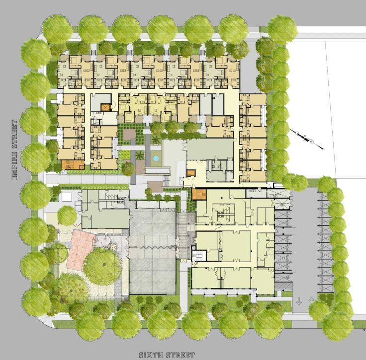 Senior housing and community center thesis ideas for Retirement home design plans