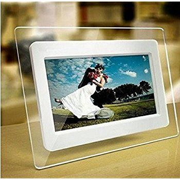 Tupucn 7 Inch Tft Lcd Wide Screen Digital 2000 Photos Display Frame