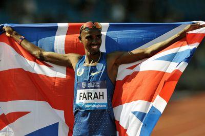 Mo Farah (GBR) The Winner, Men's 3000 m. IAAF DIAMOND LEAGUE - Birmingham 2016 Copyright B&O Press Photo
