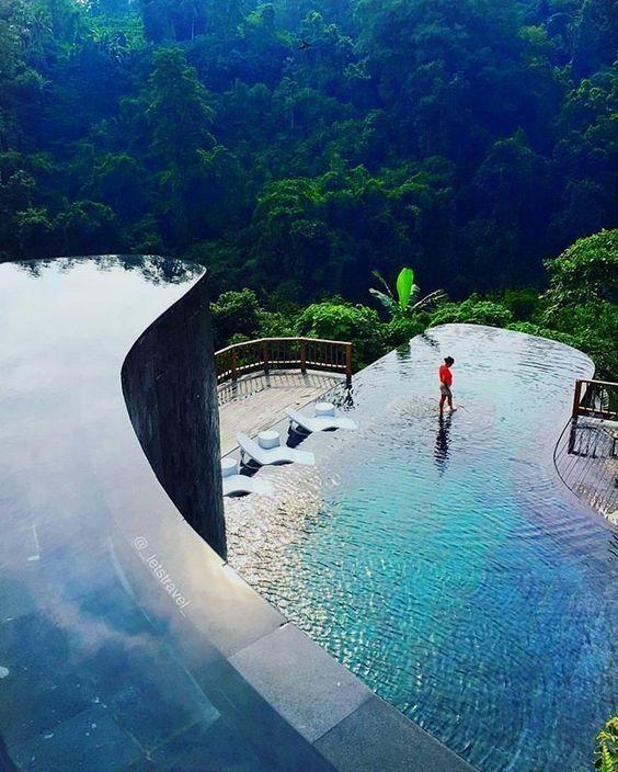 Toll !!! Hängende Gärten von Bali