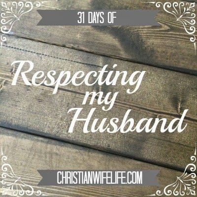 Respecting men, specifically my husband, is something that the Lord has laid on my heart in the past few years. And when I say He has l...