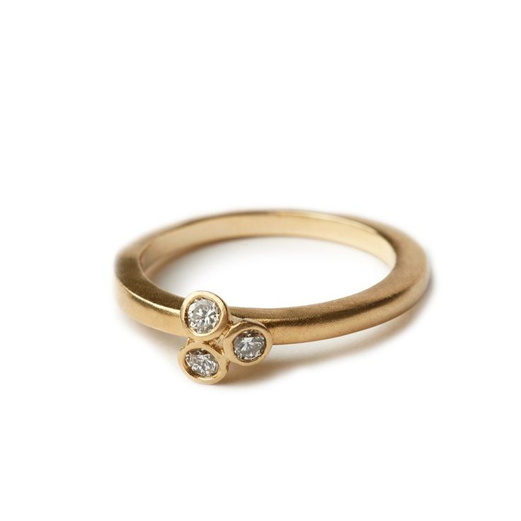 Trio diamond ring - Eternity Rings