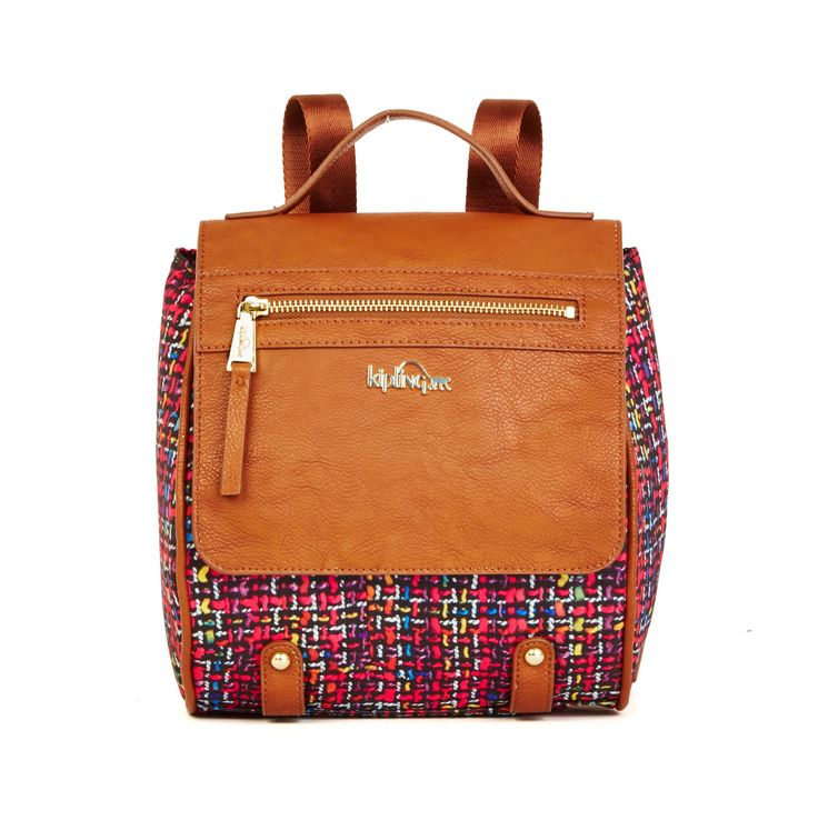 Priscilla Backpack - Passionfruit Pink Combo | Kipling