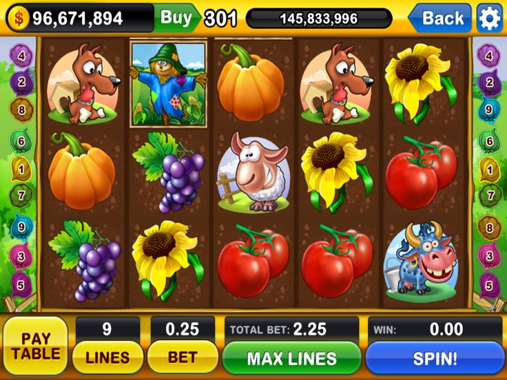 online casino game, online slots machine, nice game interface, nice icons, nice game illustration