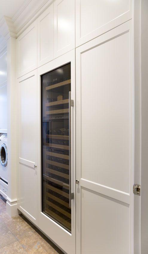 Laundry: Sub-Zero Wine Fridge