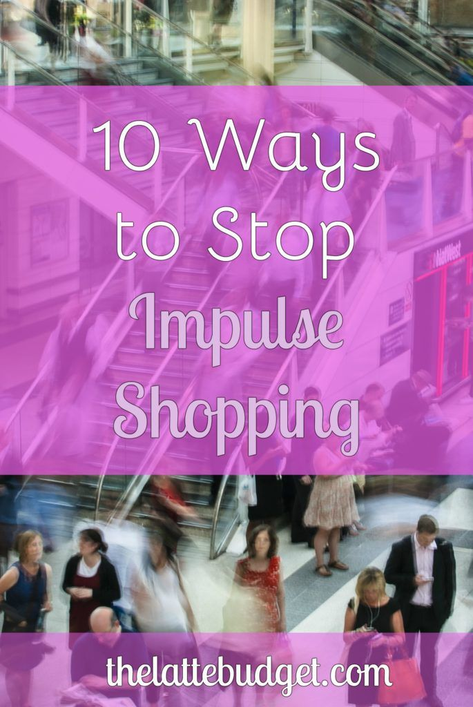 Are you and your wallet suffering from impulse shopping? Buying a bunch of stuff you don't need? Learn how to stop impulse shopping.