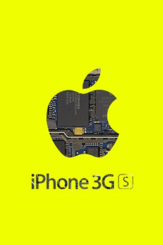 iPhone 3G Best Cell Phone Deals On Yellow Background