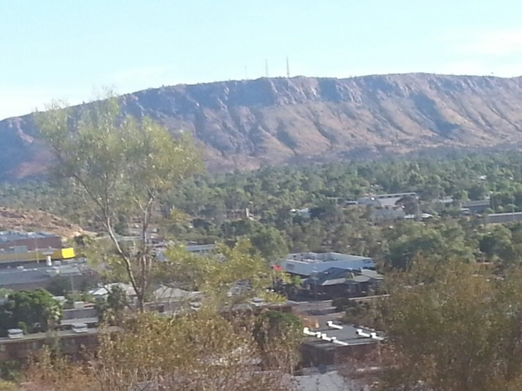 Day your in Alice Springs