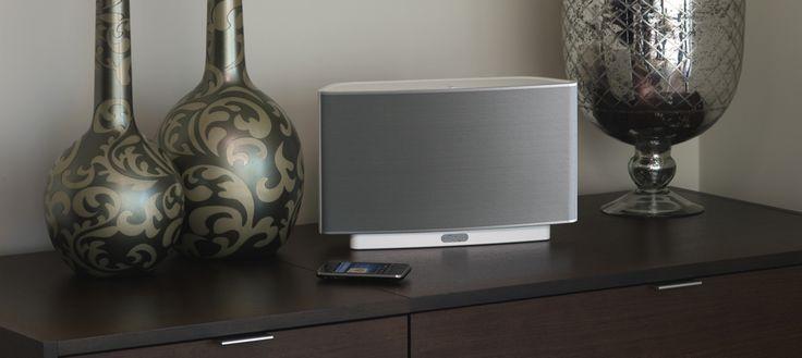 Sonos Play:5 all in one wireless hi-fi system, enjoy portable hi-fi sound or create a multi-channel sound system with the rest of the Sonos Play series.  #bluetoothspeaker #bluetooth #speaker #hifi #portableaudio #multiroom #hometheater #sonos #play5 #audiophile #listenup #listenupav