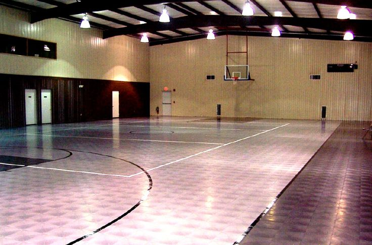 55 best hard garage tiles images on pinterest room tiles for Cost to build a basketball gym