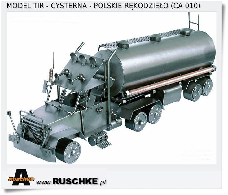Lorries Polish Hand Made Crafts metal model