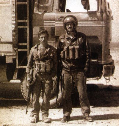Soviet Spetsnaz GRU operators in Afghanistan