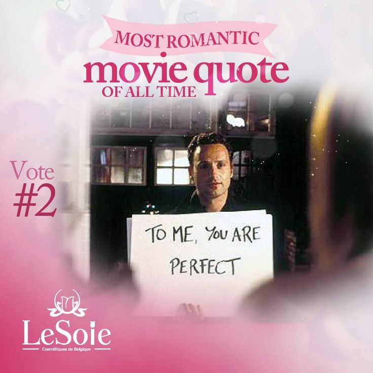 To me you are perfect choose with us the best love quote :)