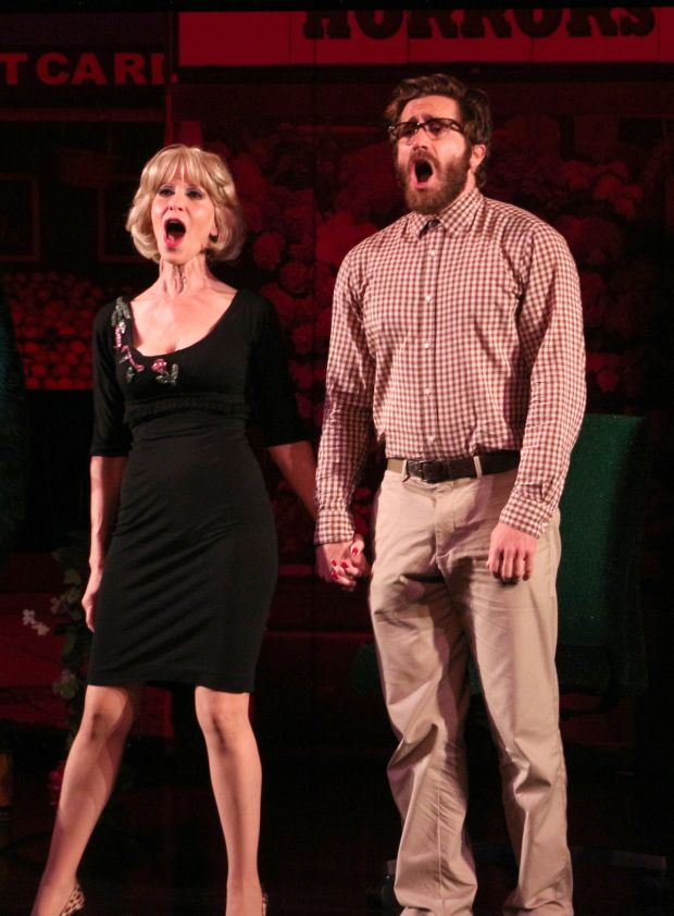 Ellen Greene with some schmuck trying his best (I heard he actually did a great job too)