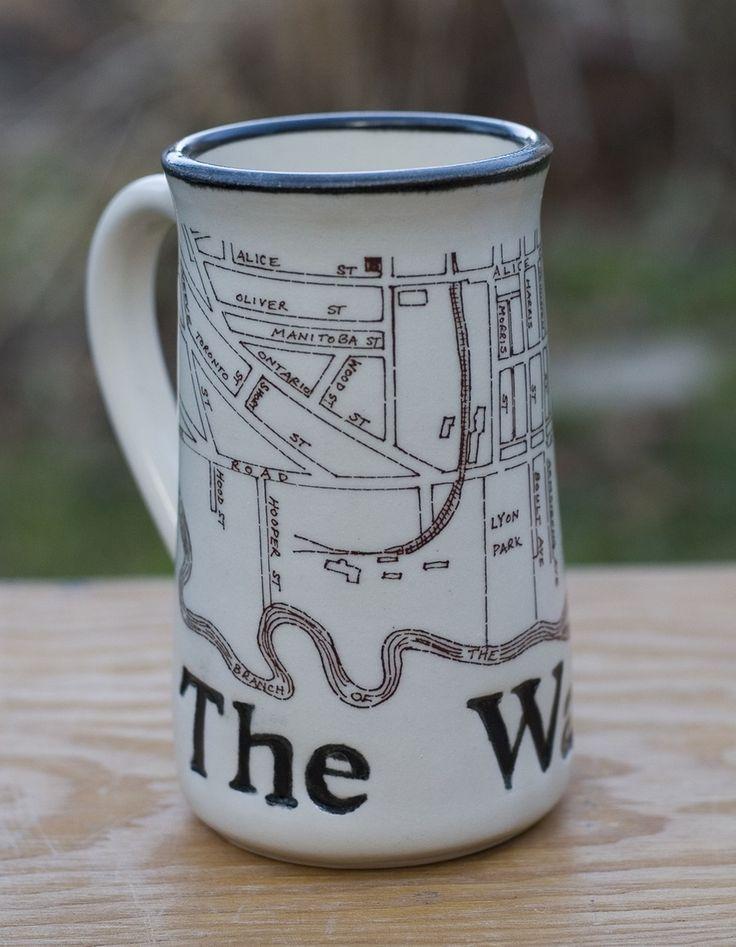 Image of Guelph Inspired 'The Ward' Mug by Bunny Safari
